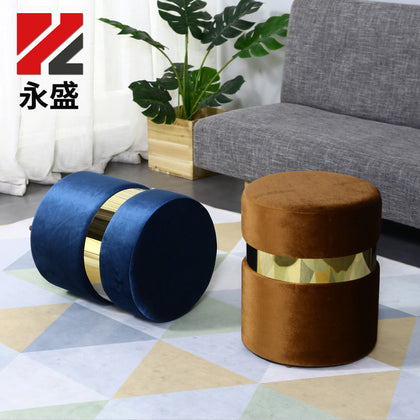Nordic shoe stool modern minimalist home stool sofa stool makeup stool solid wood stool shoe stool home entrance