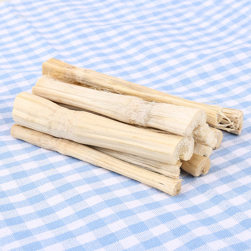 Chinchilla guinea pig hamster rabbit super love molar effect high fiber molar tooth bite wood stick sweet bamboo 50g