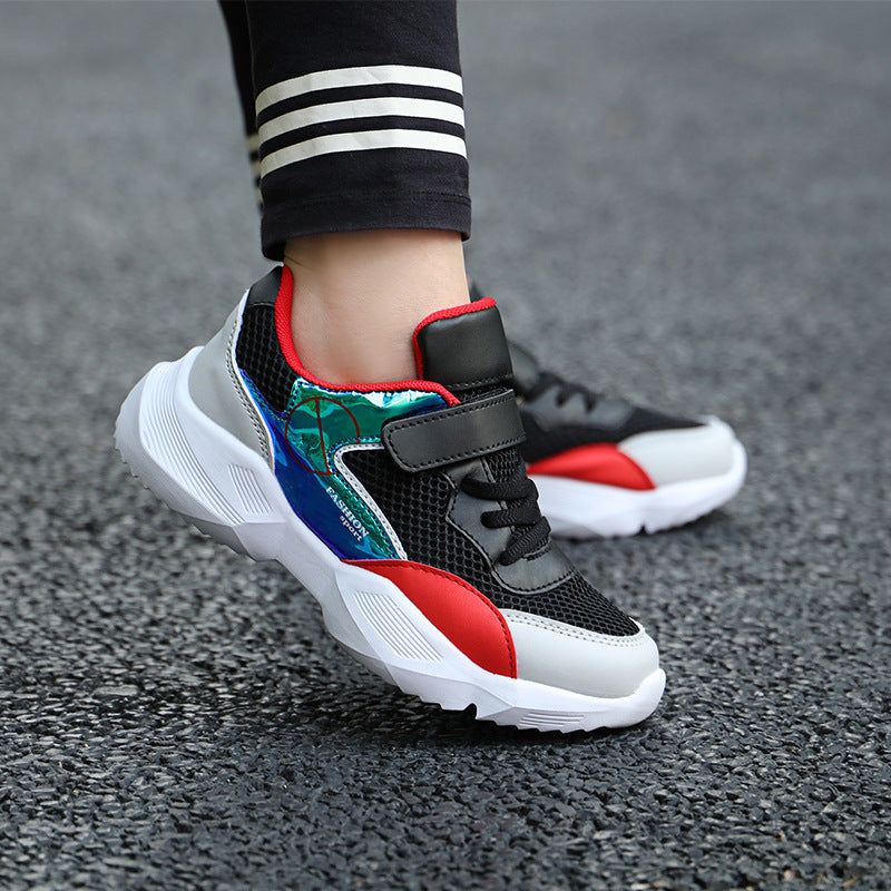Sports shoes children 2019 summer new breathable mesh face boy net shoes small children big children's shoes casual shoes