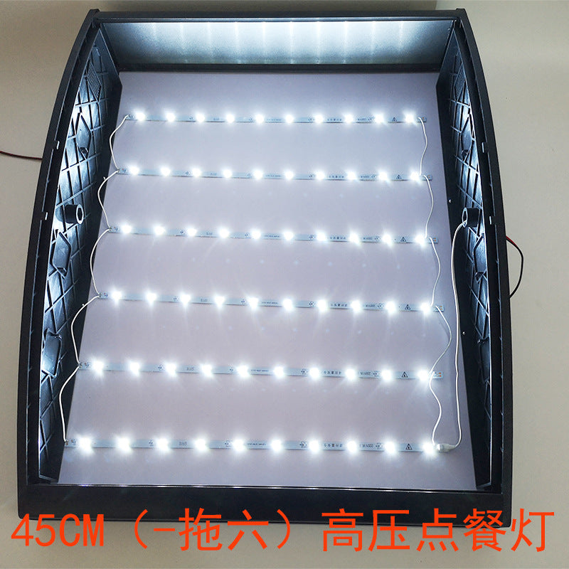 Led order light box square order light box restaurant price form surface curved light box highlight light bar manufacturers