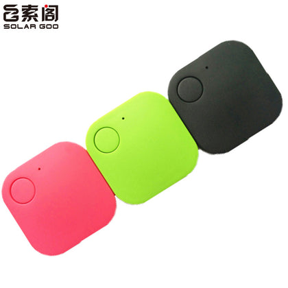 Square anti-lost device pet locator intelligent bluetooth tracking device two-way alarm custom gift list