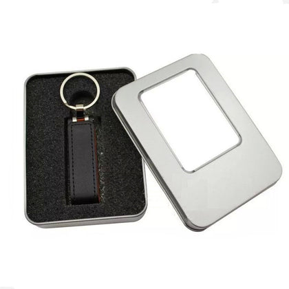 Flip Keychain Holster USB Flash Drive Business Personality Gift Magnet USB Flash Drive Customized Logo Leather USB Flash Drive