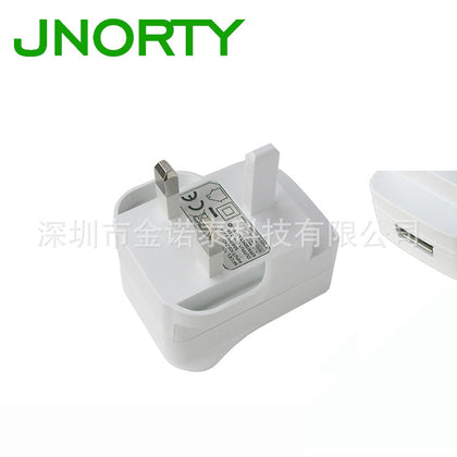 Hot sale smart device charger British standard CE certification 5V1A power adapter TDHU05B-050100