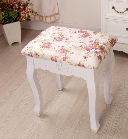 Solid wood stool S01