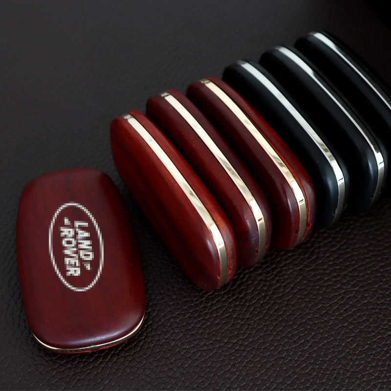 Applicable to Land Rover models key conversion sandalwood solid wood car key processing custom-made modification of various car keys