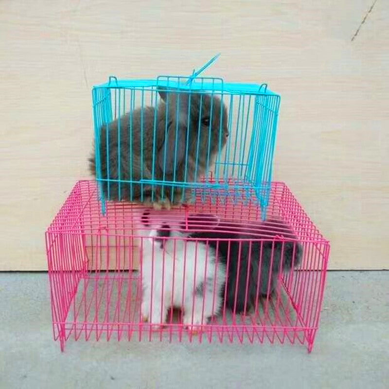Factory direct hamster rabbit Chinchilla squirrel transport cage small pillow cage wire cage