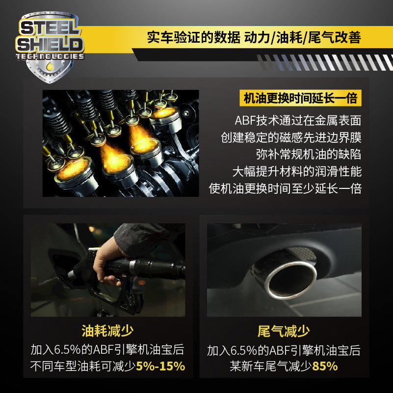 US imports SST car burning oil additive anti-wear repair agent engine noise reduction lubricant cleaning agent