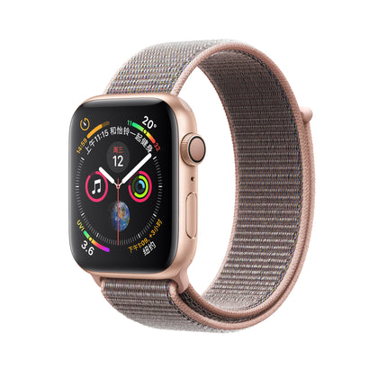 Applicable Apple Nylon Loop Strap Velcro Applicable Apple Watch 3 4 Smart Strap Braided Strap