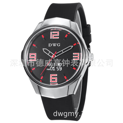 Net red vibrato burst traditional + smart watch heart rate monitoring exercise step information prompt smart watch