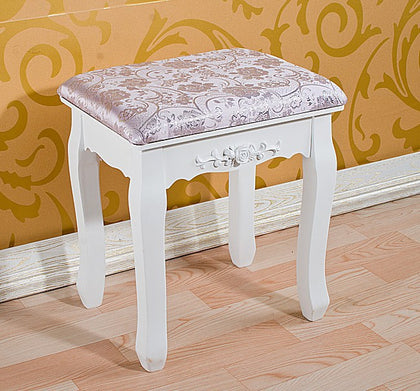Solid wood stool S02