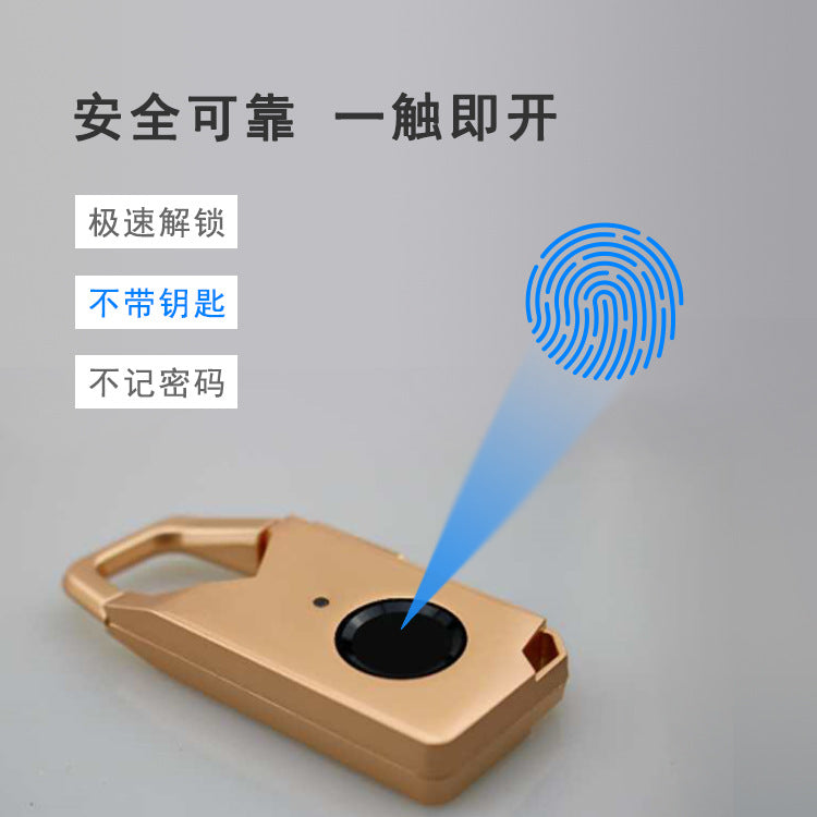 Lock smart waterproof Bluetooth fingerprint padlock program development small program app unlock NFC|smart padlock