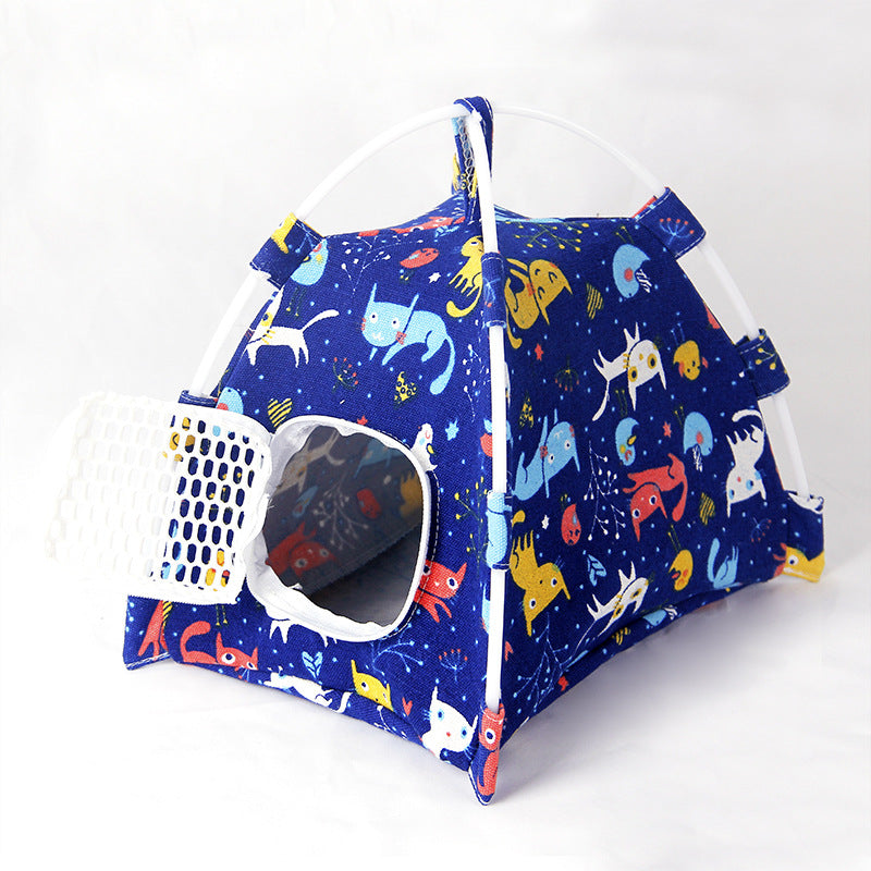 Small pet house devil takeaway bag honey bag out of the bag parrot nest mini hedgehog tent sleeping bag squirrel supplies