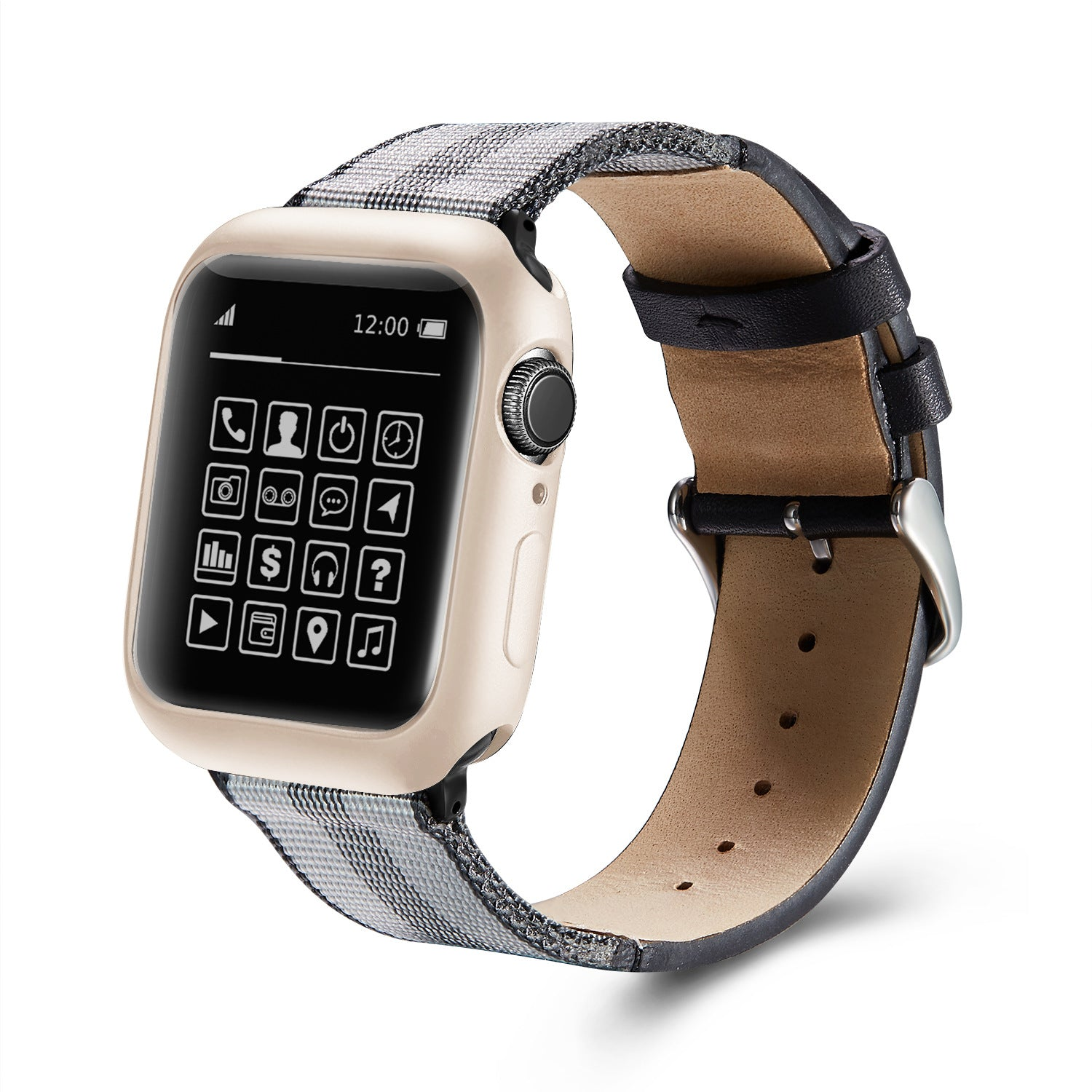 Applicable AppleWatch case tpu fuel injection case Apple Watch case iwatch half case soft