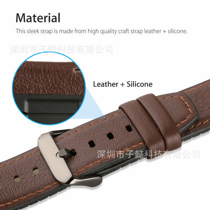 Suitable for Huawei watch 2 pro silicone sports watch watch GT 2 business leather sports watch