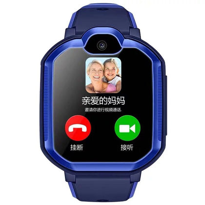 Cross-border X10 children's phone watch smart GPS positioning 4G three network video call WiFi foreign language factory direct sales