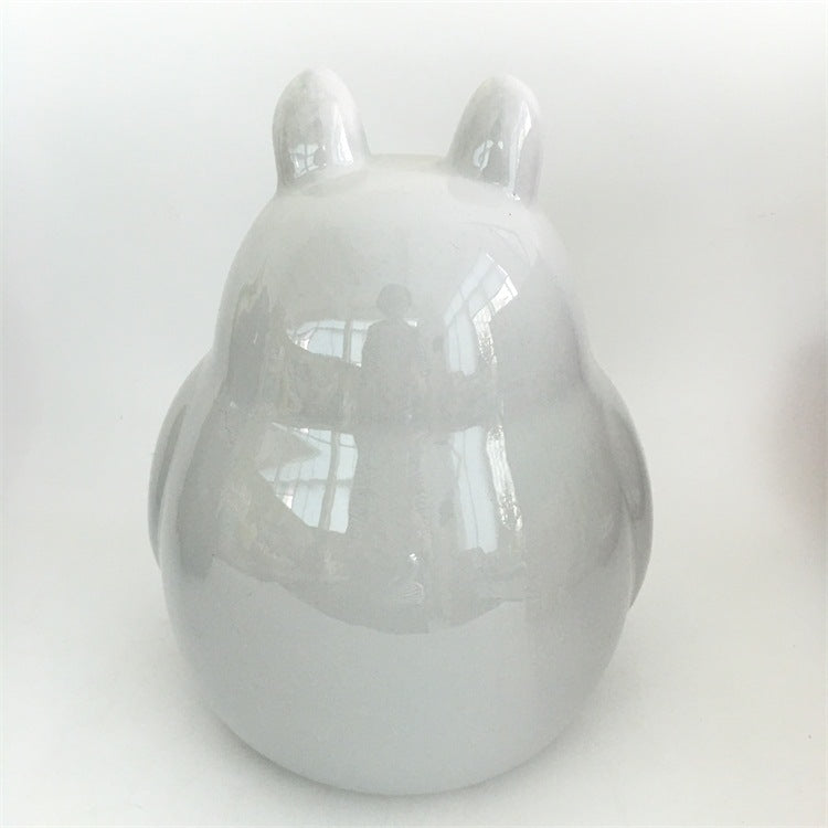 Chinchilla Porcelain Nest Grey Chinchilla Display Large Porcelain Nest Hayao Miyazaki