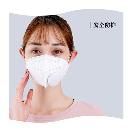 guofeng electric and electronic anti-haze mask PM2.5 protection dust-proof formaldehyde KN95 with valve air supply mask