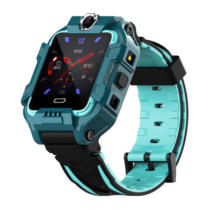 Zhi Angel Y99 Children's Phone Watch Smart GPS Positioning Flip Front and Rear Double Photo QQ Video Call AI Foreign Trade