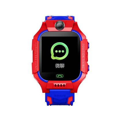 Q19 new 6 generation children's smart watch phone positioning anti-lost one button for help touch screen waterproof watch