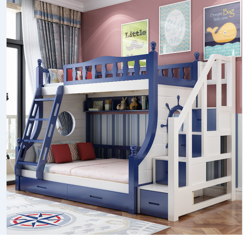 Simple Bunk Bed Children S Bed High And Low Bed Mother And Child Bed S Kartzapper Com