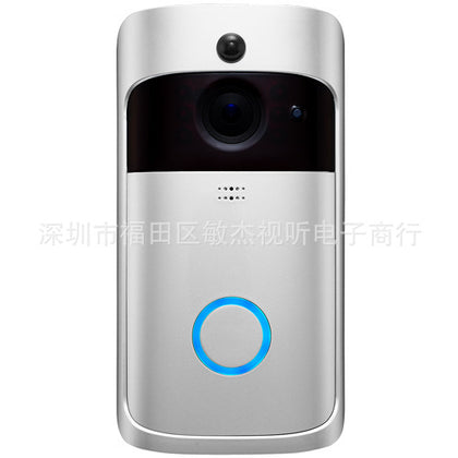 Intelligent video doorbell home electronic cat eye door mirror remote camera wireless WIFI surveillance camera M3se