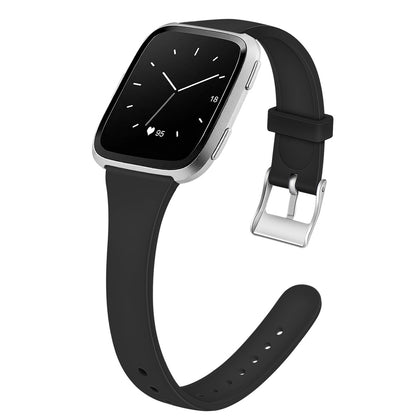 For fitbit versa 2 watch wristband Versa Lite shrink T-type solid silicone strap