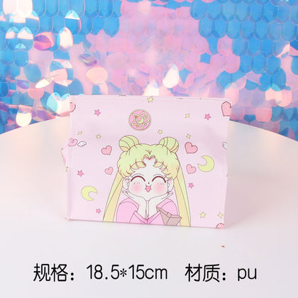 Girl heart cute pu tissue box ins creative dormitory bathroom toilet living room home waterproof toilet paper box powder