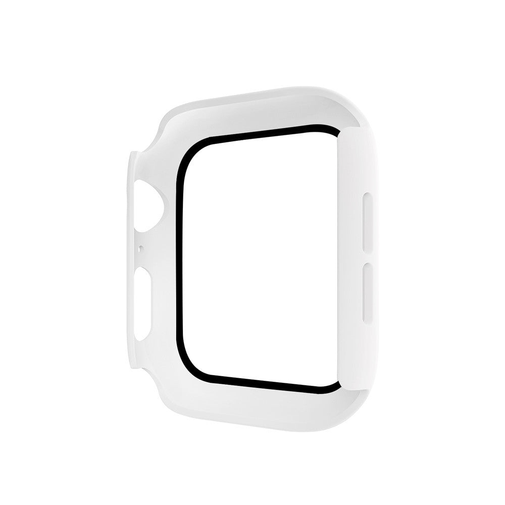 New watch case iwatch5 all-inclusive for Apple Watch 234 generation fuel injection PC plus tempered film protective shell