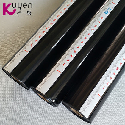 【Factory direct sales】Guangyingguang black pigment foil electric aluminum custom stamping paper