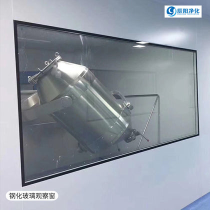 Factory direct clean tempered glass fixed window