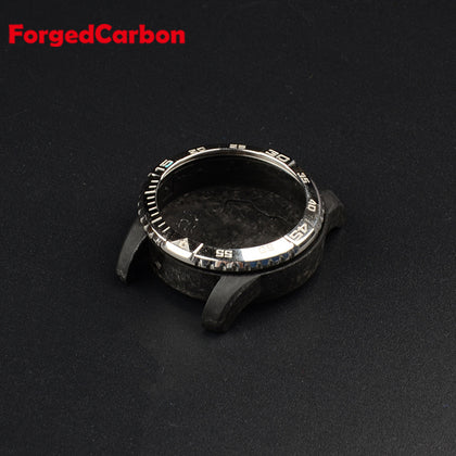 Case Processing Customized High-end Men's Precision Watch Accessories Carbon Fiber Bezel Case Dial Clasp Bottom Cover