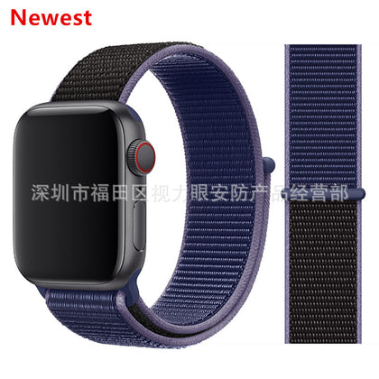 Suitable for Apple Watch 1/2/3 Apple Sports Nylon Loop Strap iwatch Nylon Velcro Strap