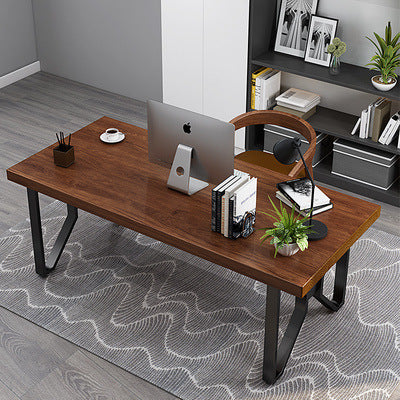 Classical Chinese solid wood writing desk home study desk chair combination computer desk bedroom creative computer desk