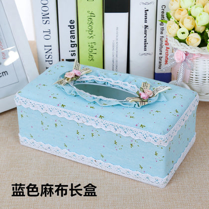 Creative car box pump toilet paper towel fabric living room carton car European roll paper rectangle fresh storage