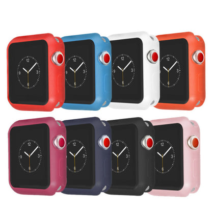 Applicable Apple Watch Protective Case 12345 Frosted Silicone Protective Cover Manufacturer Direct Sale New Spot