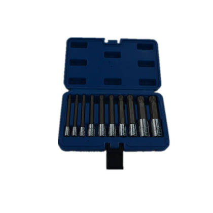 10-piece car repair sleeve tool combination professional tool box combination hardware tool set