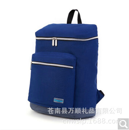 Factory Direct Diplomat Nylon Backpack Zipper School Bag Customizable LOGO Wholesale HM-5152L