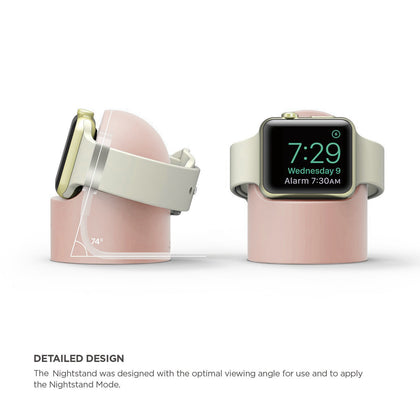 Suitable for Apple Watch charging stand iwatch2 / 3/4 generation silicone Apple Watch desktop charging base