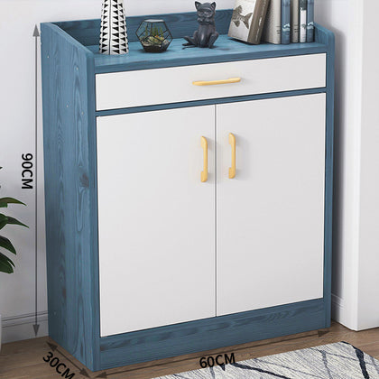 60CM Nordic Blue + Warm White + Drawer