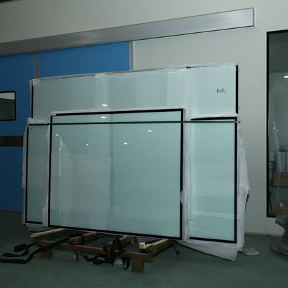 Factory direct sales, handmade panels, hollow double-glazed windows for machine panels, clean tempered glass fixed windows