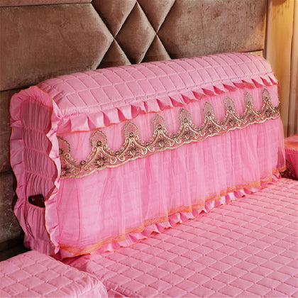 Pink anemone 1.5m bed cover