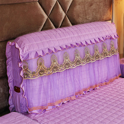 Purple Anchovies 1.5m Bed Cover
