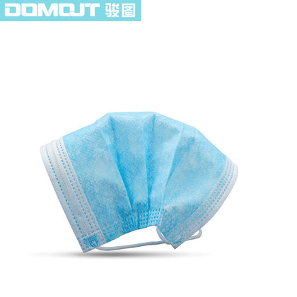 Spot Manufacturers Direct Hair Disposable Masks Civil Three-layer Ordinary Daily Protective Masks SF Ships in Three Days