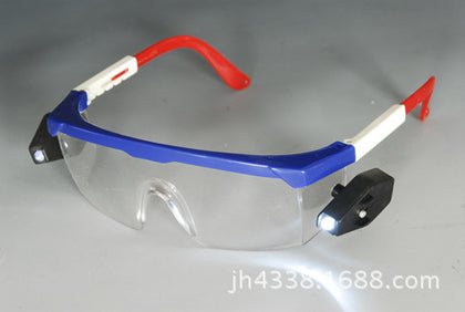 Direct sales with light glasses Night protective glasses wholesale Customizable safety glasses Quality assurance