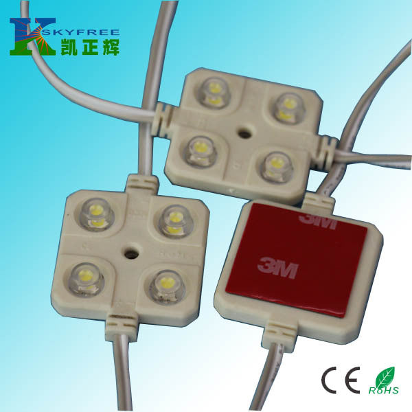 Supply car reading light module Low pressure 5050 four light injection module Car interior reading light