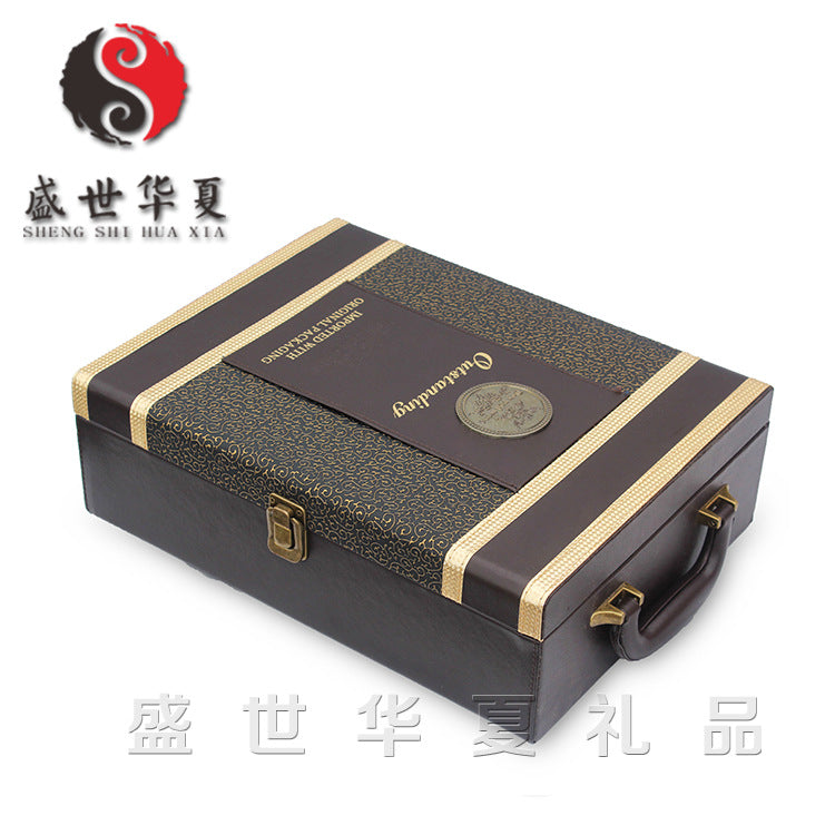 High-end wine box, spot wine box, wine box, investment agent, a generation of business, business