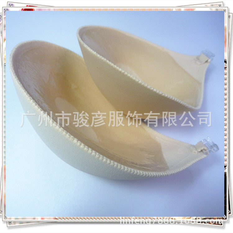 Silicone invisible bra wedding dress thickening gathered non-slip upper support chest stick nipple beauty back strapless seamless underwear