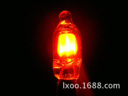 【Shenzhen Lin Xin】 Red light super bright neon light 6*13MM NE-2UH ROHS〖Quality Assurance〗