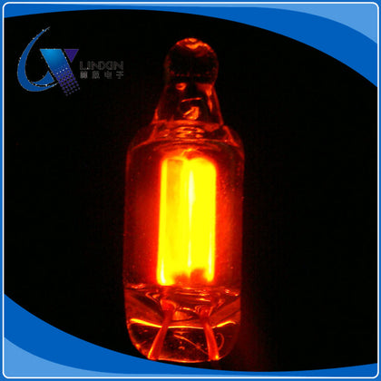 【Shenzhen Lin Xin】 Red highlight neon light indicator 6*22MM environmental protection〖Life expectancy of 25,000 hours〗