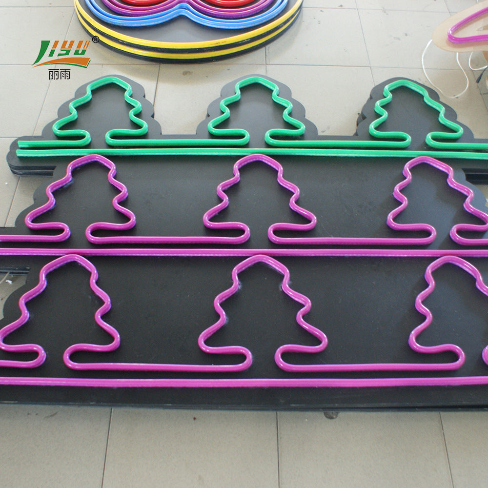 Christmas Billboard Neon Signboard Customization Christmas LED Neon Logo Styling Festival Atmosphere Letters